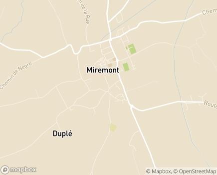 Localisation Maison d'Enfants Saint-Joseph - 31190 - Miremont