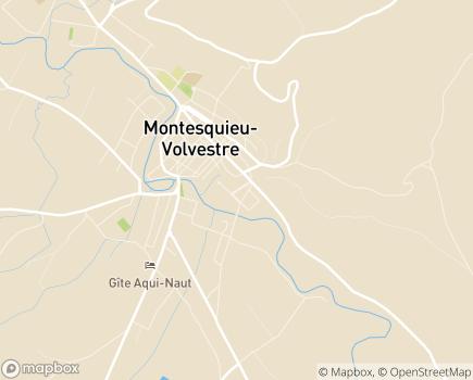 Localisation EHPAD Résidence Le Couloumé - 31310 - Montesquieu-Volvestre