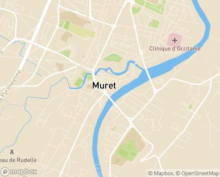Localisation EHPAD Le Castelet - 31600 - Muret