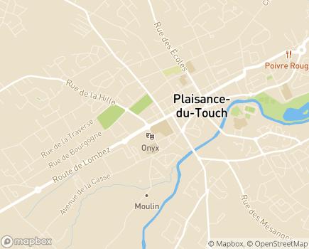 Localisation Complexe ANRAS DIME Saint-Jean - 31830 - Plaisance-du-Touch