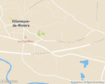 Localisation EHPAD Résidence Arthéna - 31800 - Villeneuve-de-Rivière