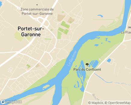 Localisation Résidence Edenis l'Auta - 31120 - Portet-sur-Garonne