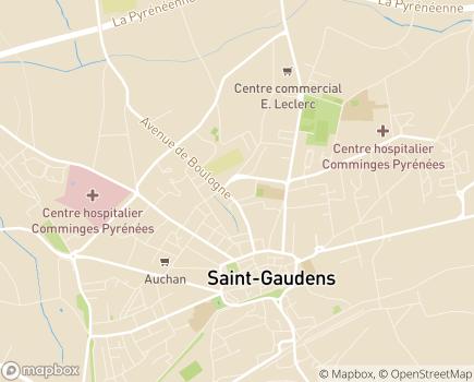 Localisation Résidence Edenis Le Mas Saint-Pierre - 31800 - Saint-Gaudens