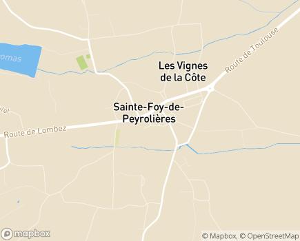 Localisation EHPAD L'Albergue - 31470 - Sainte-Foy-de-Peyrolières