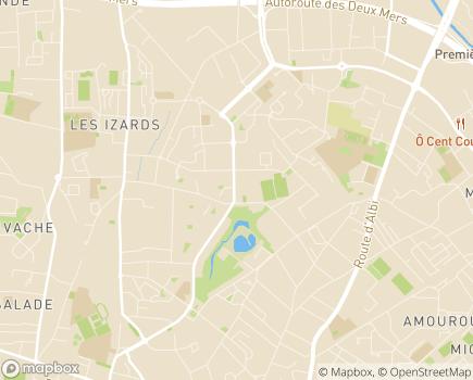 Localisation ANRAS - DITEP Saint-François - 31200 - Toulouse