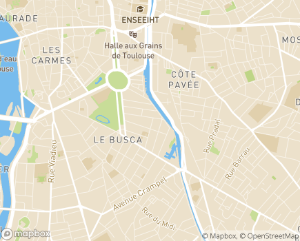 Localisation Centre d'Éducation Spécialisée pour Déficients Visuels, Institut des Jeunes Aveugles - 31400 - Toulouse
