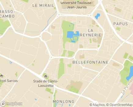 Localisation Institut Thérapeutique, Educatif et Pédagogique Paul Lambert - 31100 - Toulouse