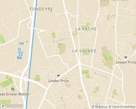 Localisation IME Les Troènes -  IME Raymond Sorel - APEAJ - 31200 - Toulouse