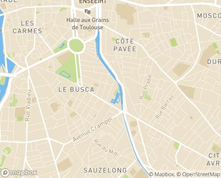 Localisation CHRS Le Relais - 31400 - Toulouse