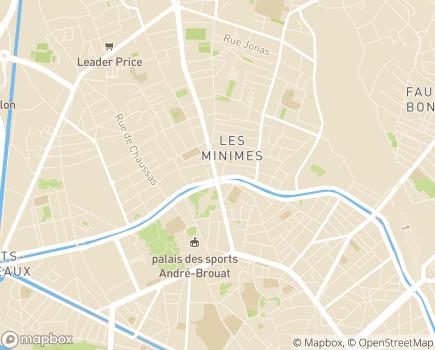 Localisation CHRS Lou Trastoulet - 31200 - Toulouse