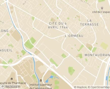 Localisation EHPAD Résidence Henri IV - 31400 - Toulouse