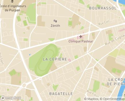 Localisation EHPAD Résidence La Cépière - 31100 - Toulouse