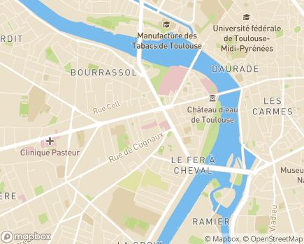 Localisation EHPAD Résidence Les Tilleuls - 31024 - Toulouse