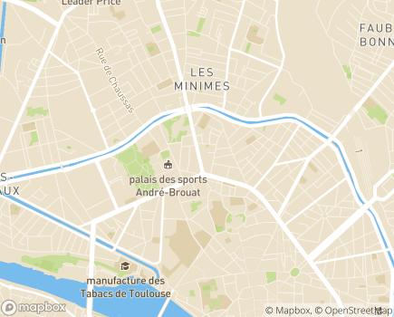 Localisation ADPAM - Association d'Aide à Domicile aux Personnes Agées et aux Malades - 31000 - Toulouse