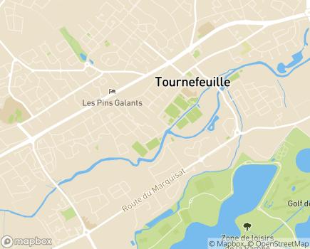 Localisation Résidence d'Oc - 31170 - Tournefeuille
