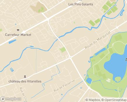 Localisation Résidence Edenis Le Grand Marquisat - 31170 - Tournefeuille