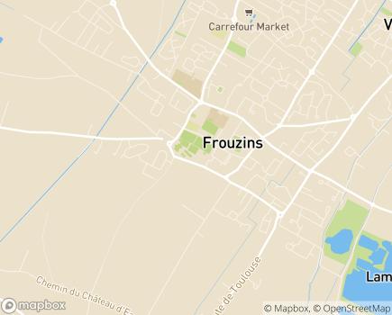 Localisation EHPAD Résidence La Triade - 31270 - Frouzins