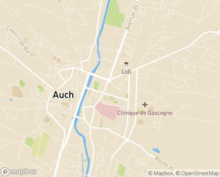 Localisation EHPAD Résidence Saint-Dominique - ANRAS - 32000 - Auch
