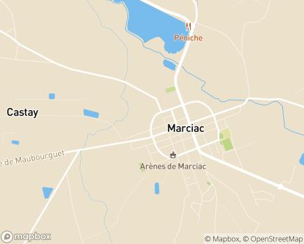 Localisation EHPAD Résidence Les Mille Soleils - 32230 - Marciac