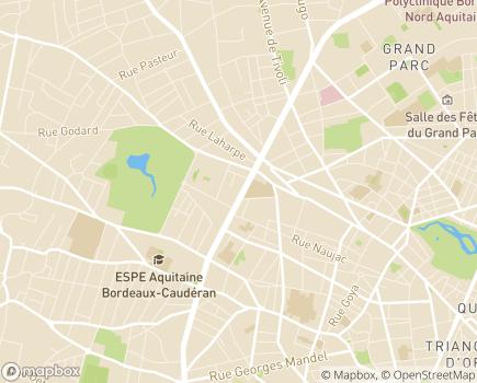 Localisation Hôpital de Jour du Parc - 33200 - Bordeaux