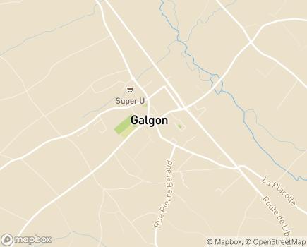Localisation ANFASIAD - 33133 - Galgon