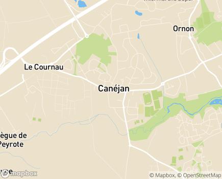 Localisation Aide à Domicile du CCAS - RPDAD - UDCCAS - 33610 - Canéjan