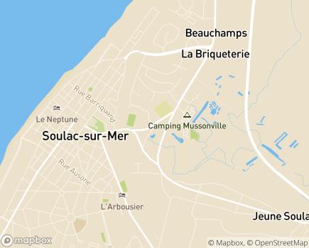Localisation Résidence Autonomie Le Soleil d'Or - 33780 - Soulac-sur-Mer