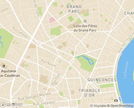 Localisation Résidences avec Services Les Héspérides Longchamps - 33000 - Bordeaux