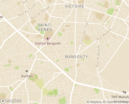 Localisation Association Coup d'Pouce 33 - 33800 - Bordeaux