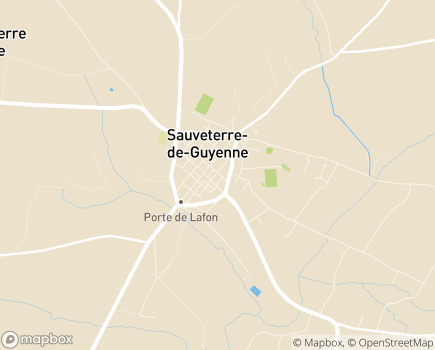 Localisation Association ADMR de Sauveterre - 33540 - Sauveterre-de-Guyenne