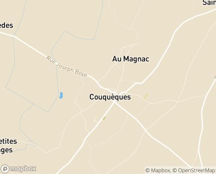 Localisation AAPAM - 33340 - Couquèques