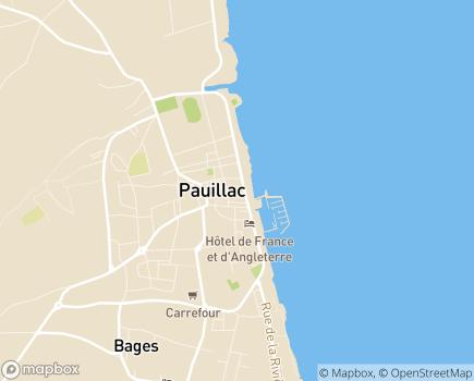 Localisation AAPAM - 33250 - Pauillac