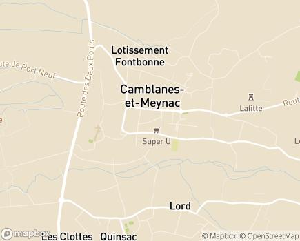 Localisation Emploi Domicile Service des Premières Côtes - 33360 - Camblanes-et-Meynac