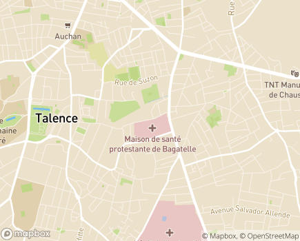 Localisation HAD Bagatelle - 33401 - Talence