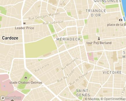 Localisation Age d'Or Services Bordeaux et CUB - 33000 - Bordeaux