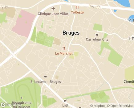 Localisation ONELA Agence de Bruges - 33520 - Bruges