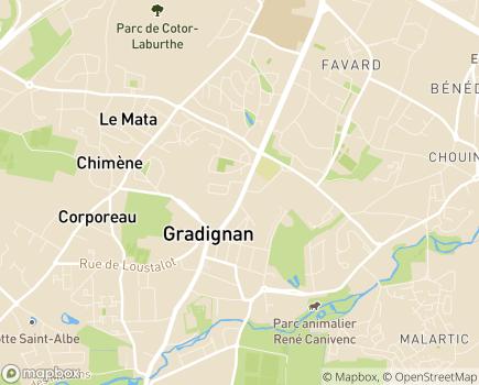 Localisation ADHAP - 33170 - Gradignan