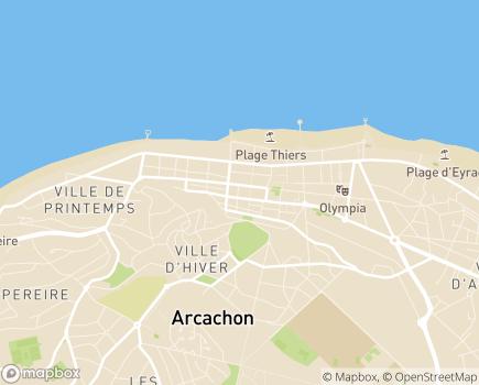 Localisation Résidence Services Seniors Patio Plaisance Cogedim Club® - 33120 - Arcachon