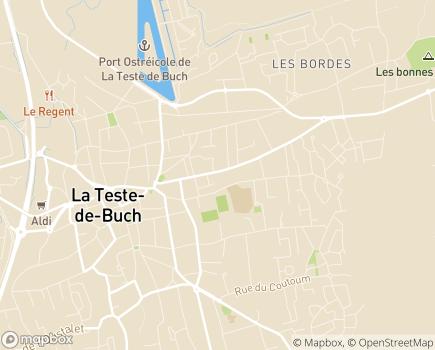 Localisation Résidence Services Saint Marc - 33260 - La Teste-de-Buch