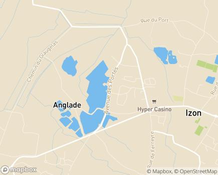 Localisation Colisée - Résidence Les Jardins de Jeanne - 33450 - Izon