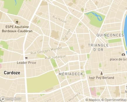 Localisation Les Templitudes - 33000 - Bordeaux
