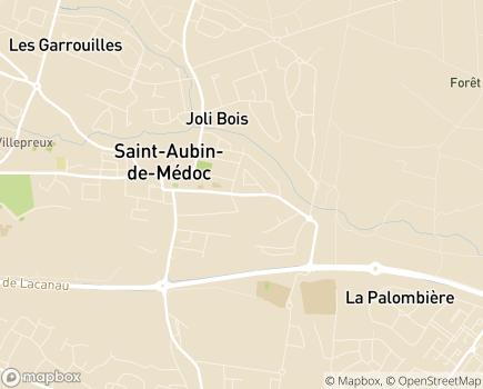 Localisation Colisée - Résidence Services La Maison de Saint-Aubin - 33160 - Saint-Aubin-de-Médoc