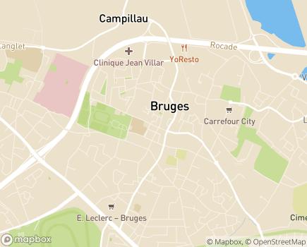 Localisation Servizen - 33520 - Bruges