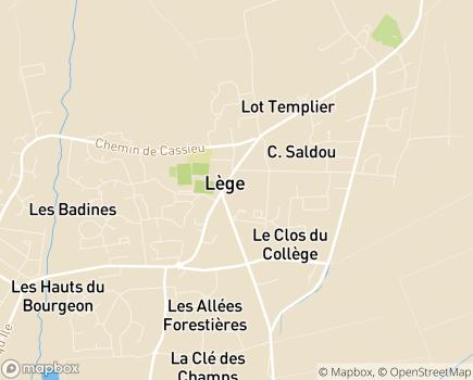 Localisation Colisée - Résidence avec Services Les Cabanes de Lège - 33950 - Lège-Cap-Ferret