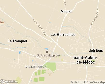 Localisation Espace et Vie Saint-Aubin de Médoc, Résidence avec Services - 33160 - Saint-Aubin-de-Médoc