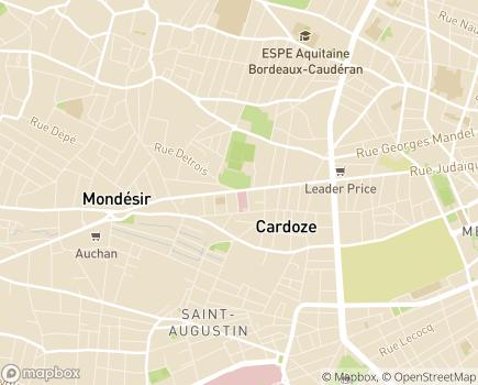 Localisation Clinique Chirurgicale Bel Air - 33073 - Bordeaux