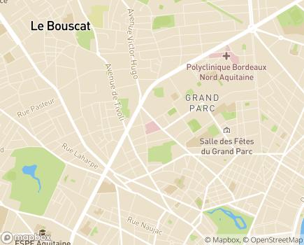 Localisation Clinique Tivoli - 33000 - Bordeaux