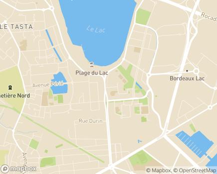Localisation ADAPEI de la Gironde Les Papillons Blancs - 33000 - Bordeaux