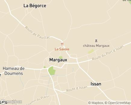Localisation Résidence Autonomie Aguado (Logements Foyer) Énéal/CCAS - 33460 - Margaux