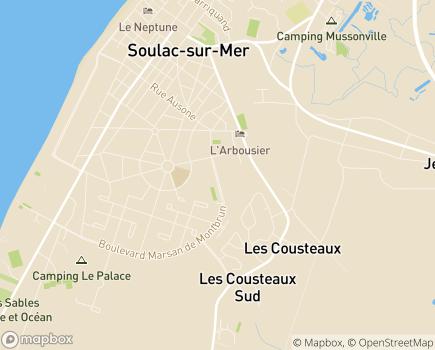 Localisation Colisée - Le Repos Marin - 33780 - Soulac-sur-Mer